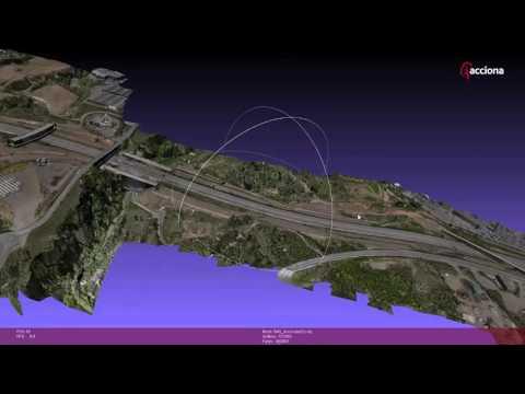 Sobrevolando proyectos de ACCIONA con drones