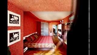 Жидкие обои на потолок - отделка потолков, фото и видео примеры