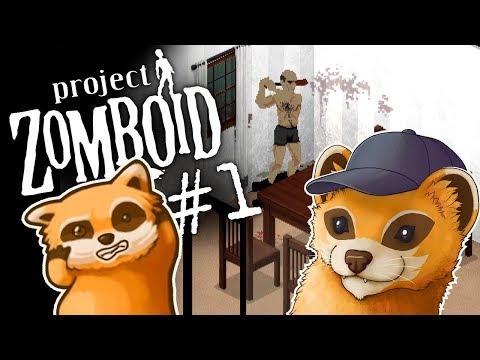 Project Zomboid - SVENJAMIN SPOON - #1 - Let's Play Project Zomboid, Episode 1