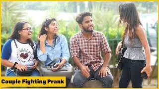 Couple fighting  Prank on cute girls ft.Chik Chik Boom | RDS Production
