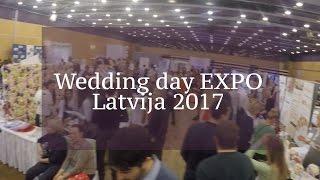 Свадебная выставка в Риге. Kāzu izstāde. Wedding day EXPO Latvija 2017