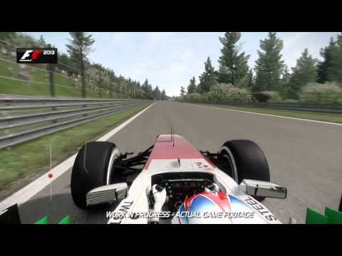F1 2013 (Spa Francorchamps Hotlap)