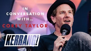 In Conversation With: COREY TAYLOR (inc new Slipknot album announcement)