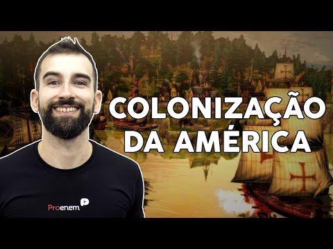 Início da colonização da América portuguesa e espanhola | História | Prof. Marcelo Lameirão