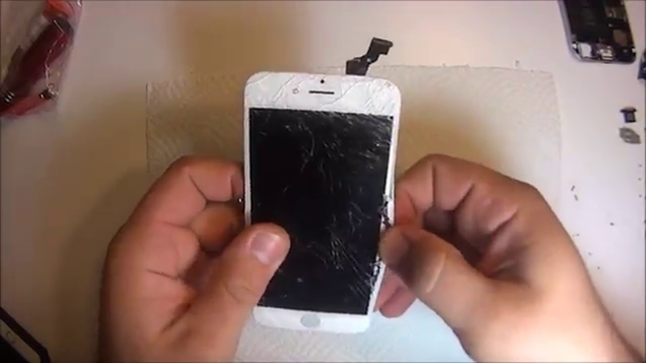 iphone 6 screen replacement glass only repair diy 15 mins youtube