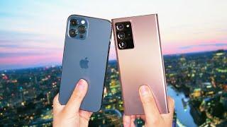 iPhone 12 Pro Max vs. Galaxy Note 20 Ultra camera comparison