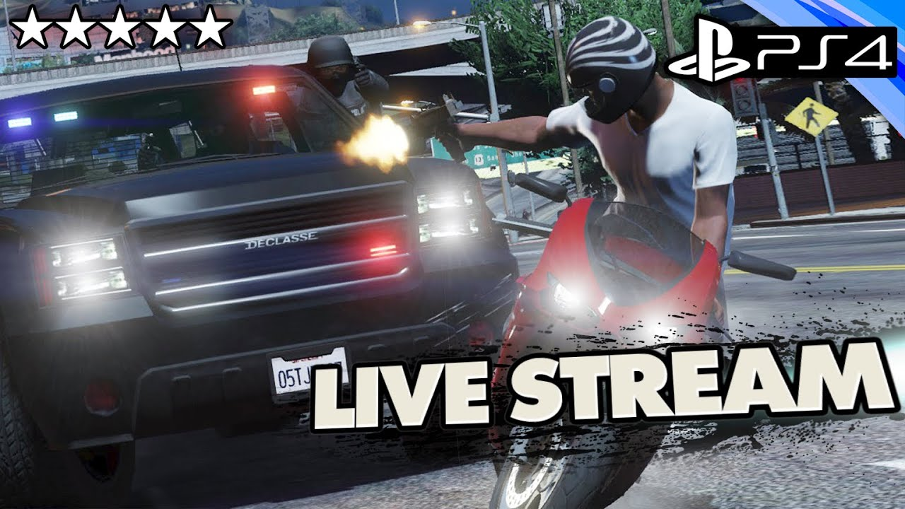 Gta  Ps Police The Streets Gta Online Live Stream W Crew Youtube