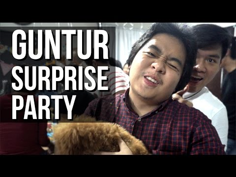 SURPRISE BIRTHDAY GUNTUR!
