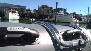 Testing the Sealegs Amphibious Vehicle