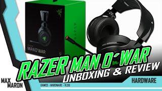 Razer ManO´War - Wireless Gaming Headset - Unboxing & Review Deutsch