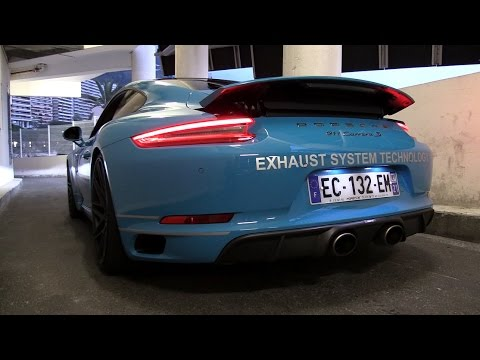 2017 Porsche 991 Carrera S MK2 3.0L Turbo w/ Akrapovic Exhaust - Sounds, Revs & Accelerations!