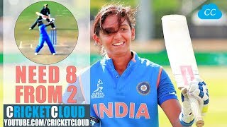 Harmanpreet Kaur THE FINISHER like MS DHONI !! Women's World Cup !!