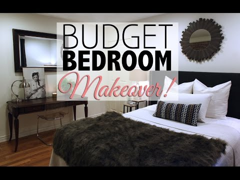 Budget Bedroom Makeover  Home Decor
