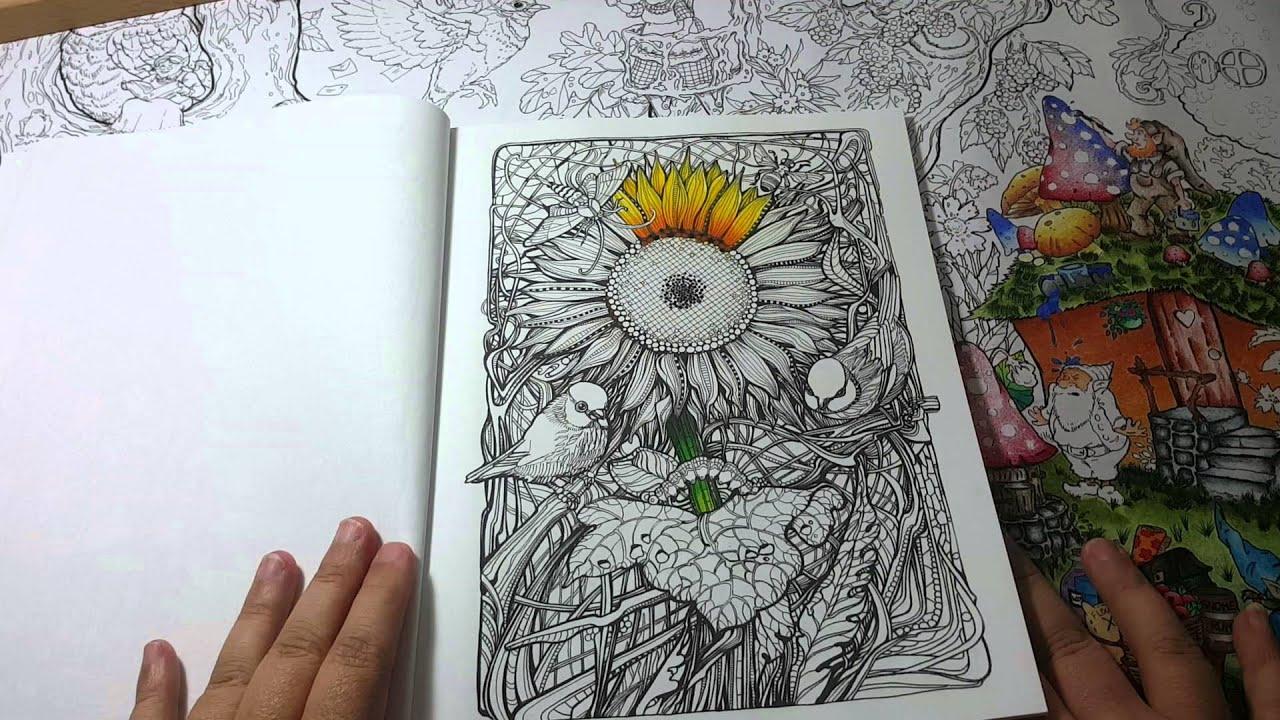 Manic Botanic Coloring Book Review