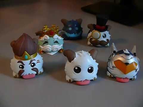 Rare! League of Legends Poro Funko Figures (both sets)