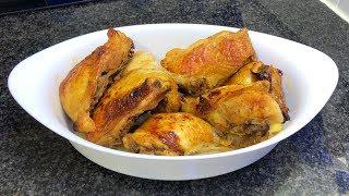 Куриные окорочка в духовке. Очень вкусный рецепт