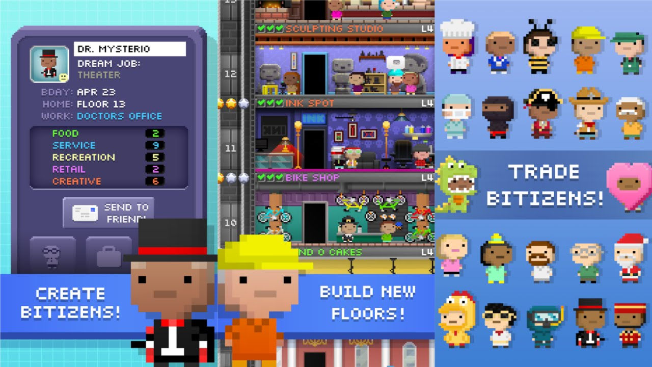 Tiny tower vegas hack download [android&ios] youtube.