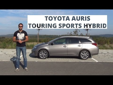 toyota auris touring sports hybrid 136 km 2014 test 127 youtube. Black Bedroom Furniture Sets. Home Design Ideas