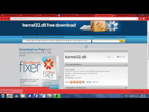 How to: Fix Skype - KERNEL32.dll Fatal error! from YouTube · Duration:  1 minutes 41 seconds  · 528,000+ views · uploaded on 3/5/2014 · uploaded by REW01WER