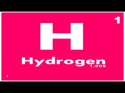 STUDY GUIDE: 1 Hydrogen | Periodic Table of Elements