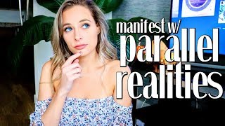 MANIFEST USING PARALLEL REALITIES | The Law of Attraction - Simply Ney