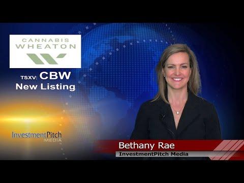 Cannabis Wheaton Income Fund (TSXV: CBW) New Listing