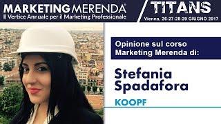 Gambar cover Opinioni sul corso Marketing Merenda di Stefania Spadafora