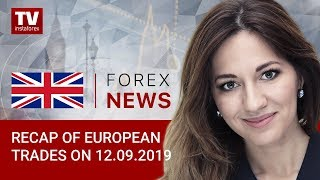 InstaForex tv news: 12.09.2019: Investors remain cautious ahead of ECB meeting (EUR, GBP, CHF)