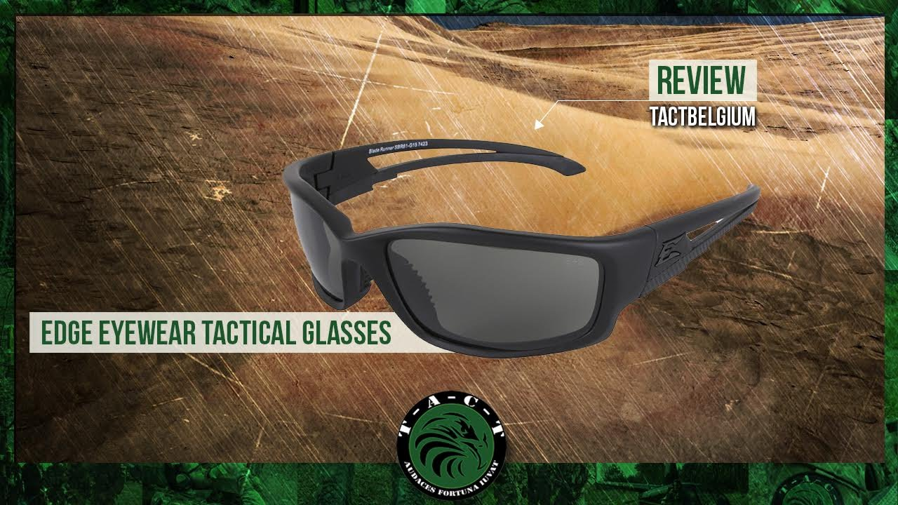 bffd94a6944 REVIEW - Edge Eyewear Tactical Glasses - YouTube