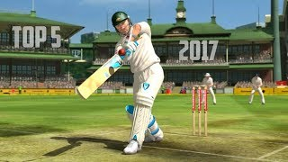 Top 5 Best Cricket Games for Android 2017-18