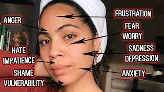 How Suppressed Emotions Can Show Up As Acne and Other Skin Issues