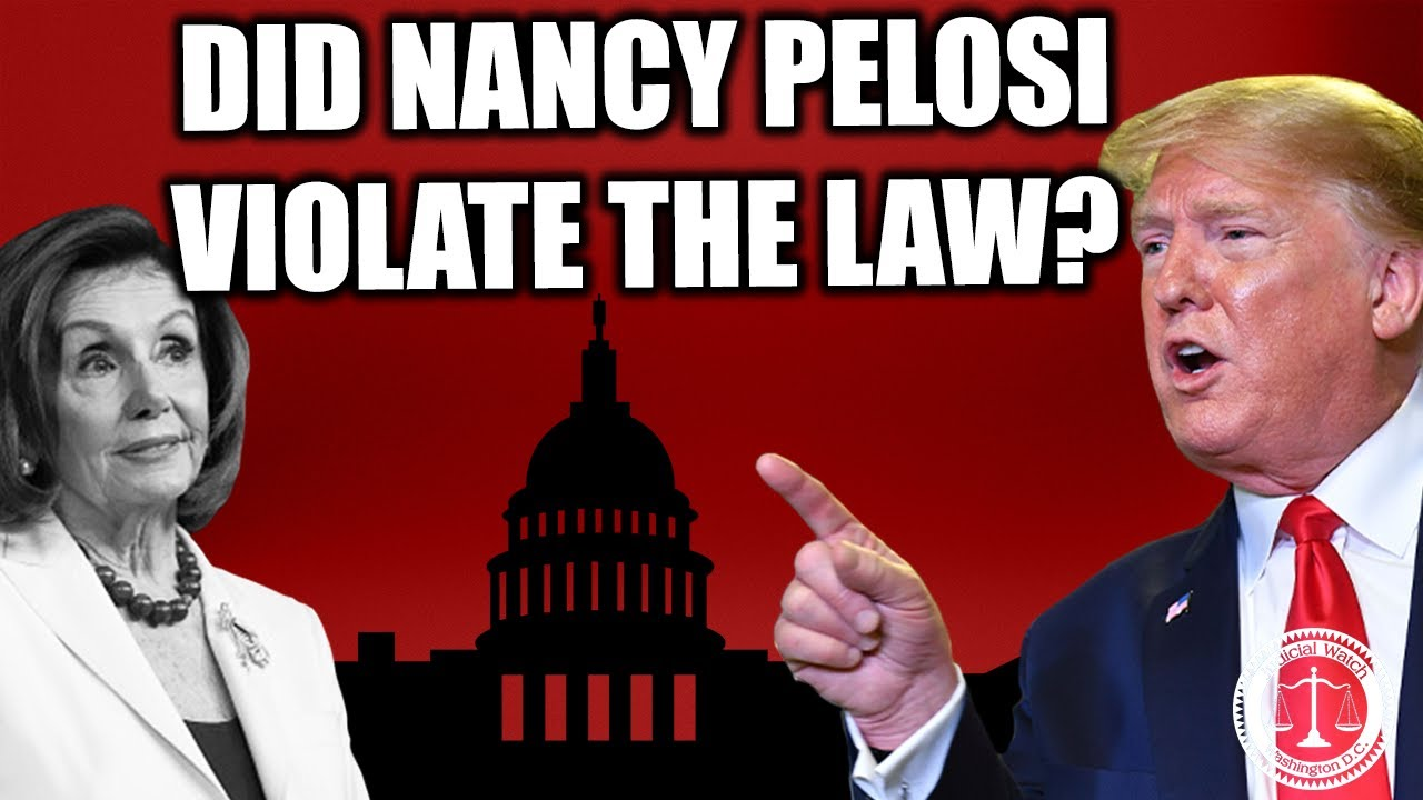 Tom Fitton: How Nancy Pelosi May Have Violated the Law by Tearing Up The State of the Union Address!