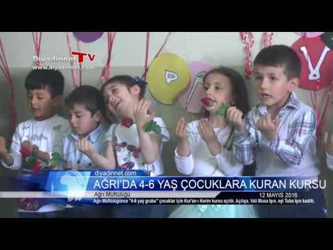 Ağrı'da 4-6 yaş grubu çocuklar için Kuran kursu
