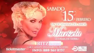 Ricardo Stevan abriendo el concierto de Marisela en el Teatro Ritz de New Jewsey