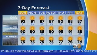 Jennifer Kim's Weather Forecast (Sept. 16)