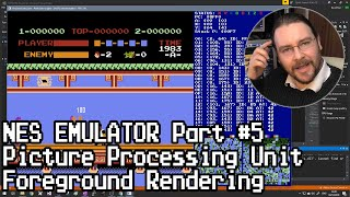 Nes Emulator Part 5 Ppu - Foreground Rendering