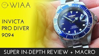Invicta Pro Diver 9094 Watch Review