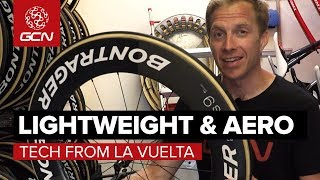 Lightweight & Aero Tech From La Vuelta a España 2018