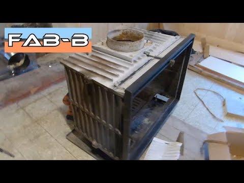 Installation d'un insert à bois : Partie 2