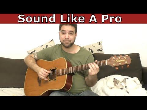 3 Simple Techniques to Sound Like A Pro Guitar Player - Lesson Tutorial