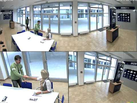 Mobotix Sample Video (Q24 Panorama Focus View)