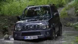 Тест драйв внедорожника Suzuki Jimny