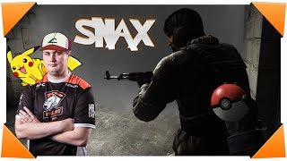 CS:GO - SNAX playing Pokemons on EPS match - NEOGEAR