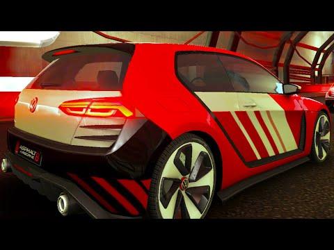 Asphalt 8, VW GOLF Design Vision GTI, WST