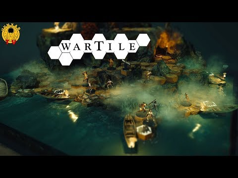 Wartile - a gorgeous tabletop-like realtime strategy game in the lands of Vikings