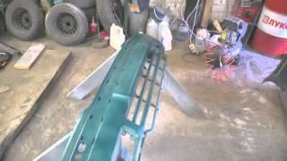 Ремонт Skoda Octavia. Часть 5.(Окраска бамперов и крыльев машины. Окончательный результат работы., 2015-06-21T18:56:32.000Z)