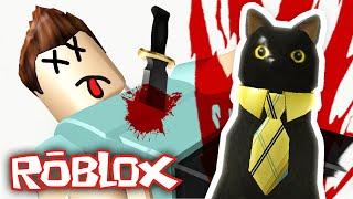 Roblox - Murder Mystery 2 - EVIL PET CAT MURDERER!!