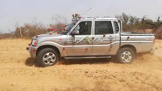 Scorpio getaway 4wd Vs mahindra NC 640 in desert
