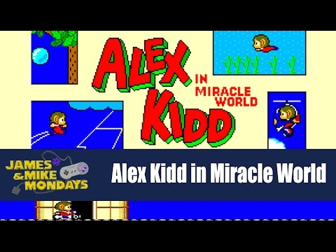 Alex Kidd in Miracle World (Sega Master System) James & Mike Mondays