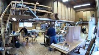 Assembling Dovetailed Lateral File Cabinet Case